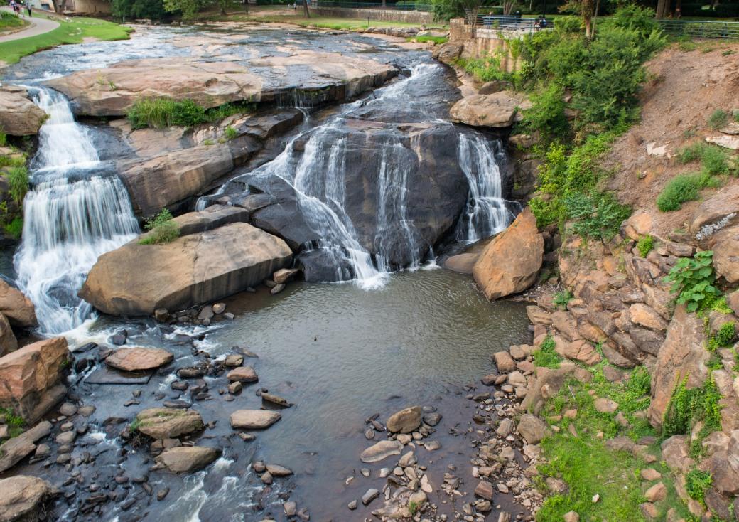 Falls Park Greenville 6